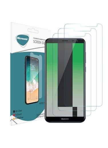 Microsonic Huawei Mate 10 Lite Ekran Koruyucu Nano Cam (3'lü Paket) Renksiz